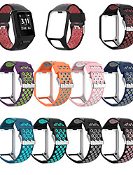 cheap -Watch Band for TomTom Spark 3 / TomTom Runner 2 / TomTom Runner 3 TomTom Sport Band Silicone Wrist Strap