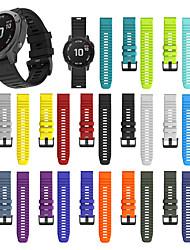 cheap -For Garmin Fenix 6X /6X pro Fenix 5X /5X Plus Replacement Quick Release Silicone Watch band Wrist Strap 26mm