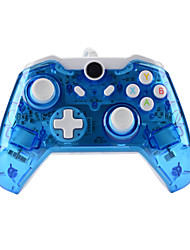 cheap -GH8112 XBOX ONE Controller USB Wired headset for Microsoft Xbox ONE Console & PC Windows7/8/10 - Transparent shell  Key improvement  Three mode Dazzling LED(Penetrating blue)