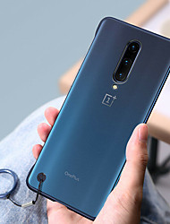 cheap -Luxury Frameless Slim Cases For Oneplus 7 Pro One Plus 7 Oneplus 6T One Plus 6 Hard PC Matte Transparent Cover Funda Frame Key Ring