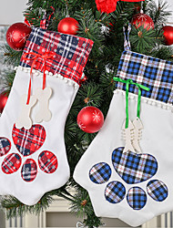 cheap -New Year Gift Bag For Pets Dog Cat Christmas Products Christmas Tree Hanging Ornaments