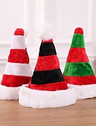 cheap -Santa Claus Hat Winter Warm Christmas Increase Thickening Big Ball Soft