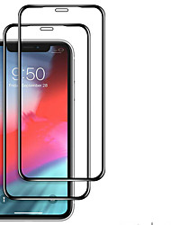 cheap -2PCS Full Cover Tempered Glass for iPhone 11 Pro 2019 on iPhone XR X XS Max Screen Protector Protective Glass for iPhone XI XIR MAX