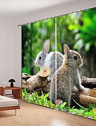 abordables -Petit jardin numérique impression 3d rideau sshading rideau haute précision tissu de soie noire de haute qualité rideau