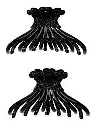 cheap -Women's Basic Trendy Fashion Acrylic Alloy Hair Claws Hair Jewelry Birthday School