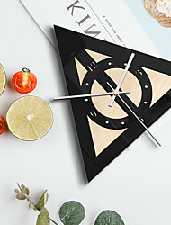 cheap -M.Sparkling Hot selling home decoration creative wall clock European Style Bar Cafe living room wooden retro wall clock