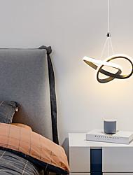 cheap -1-Light LED15W Mini Pendant Light Ambient Lamp Aluminum Black White Painted for Living Room Bedroom Dining Room Warm White / White