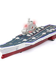 cheap -Toy Car Aircraft Carrier Aircraft Carrier Glow Creative Simulation Zinc Alloy Mini Car Vehicles Toys for Party Favor or Kids Birthday Gift