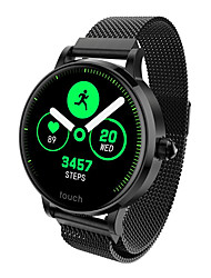 cheap -S9 Smartwatch Stainless Steel BT Fitness Tracker Support Notify/ Blood Pressure Measurement Sports Smart watch for Samsung/ Iphone/ Android Phones