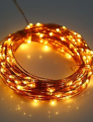 cheap -YWXLight® LED String Fairy Lights Waterproof 5M 50LED Copper Wire Fairy String Light Christmas Wedding Party Decoration AA Battery (No batteries)