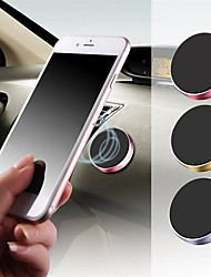 cheap -Car Cell phoneHolder Magnetic Mobile phone Holder car Bracket Dashboard Steering Wheel Round Mobile phone Holder