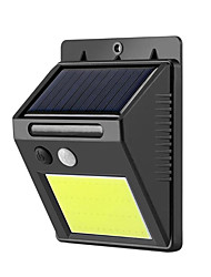 cheap -1pc 3 W Solar Wall Light Waterproof / New Design / Light Control Cold White 3.7 V Outdoor Lighting / Swimming pool / Courtyard 48 LED Beads
