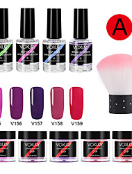 cheap -Glass UV Gel For Finger Nail Safety / Best Quality Romantic Series nail art Manicure Pedicure Trendy Daily / Festival
