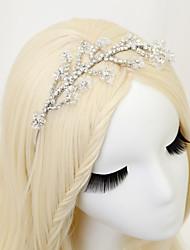 cheap -Crystal / Rhinestone / Alloy Headbands with Rhinestone / Crystal 1 Piece Wedding Headpiece