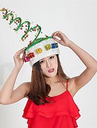 cheap -1pcs Plush Spring Caps Christmas Hat for Adults  Ornament Hat