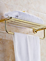cheap -Towel Bar New Design / Cool Modern Brass 1pc Double Wall Mounted