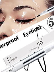 cheap -5D Eyeliner Waterproof Persistence Zero Smudge Fine Soft Eyeliner Pen