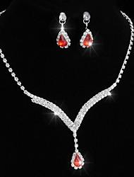 cheap -Women's Drop Earrings Necklace Earrings Jewelry Silver For Wedding 1 set