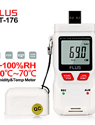 cheap -ET-176  HumidityTemperature Datalogger Thermometer Handheld Digital Non-contact Mini Hygrometer LED High/Low temperature indicator