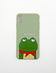 cheap -Case For Apple iPhone XS / iPhone XR / iPhone XS Max Ultra-thin / Pattern Back Cover Word / Phrase / Animal / Cartoon TPU