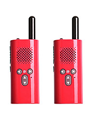 cheap -2 Piezas Xiaomi Walkie Talkie Mini Radio Mini Intephone Parent-child outdoor self-driving hotel KTV