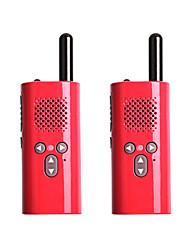 Недорогие -2 пьесы xiaomi walkie talkie мини радио мини intephone родитель-ребенок открытый самостоятельного вождения отель ktv