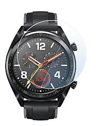 abordables -5pcs pour huawei watch gt verre trempé protecteur d'écran film protecteur garde anti-explosion anti-éclatement