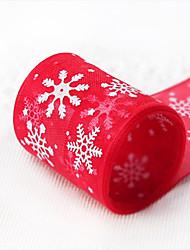 Недорогие -Праздничные украшения Украшения для Хэллоуина Рождественские украшения Декоративная Белый / Красный 1шт