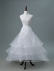 cheap -Wedding / Party / Evening Slips Polyester / Tulle Cathedral-Length Chapel Train / Bridal with