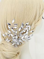 cheap -Other Material / Rhinestone / Alloy Hair Clip with Rhinestone 1 Piece Wedding Headpiece