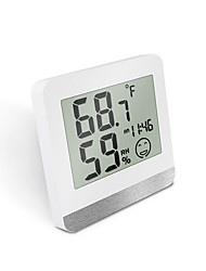 cheap -Digital Wireless Indoor Outdoor Thermometer, Wireless Clock Calendar Thermometer