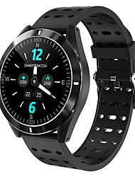 cheap -Smartwatch Digital Modern Style Sporty Silicone 30 m Water Resistant / Waterproof Heart Rate Monitor Bluetooth Digital Casual Outdoor - Black Black / Gray Black / Green