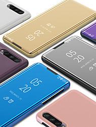 Недорогие -Роскошный умный ясный вид зеркало флип стенд чехол для телефона для Xiaomi Mi CC3 CC9E