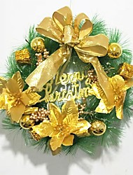 cheap -The Christmas Tree Decoration Wreath Wreaths Hang 30Cm