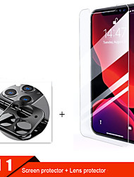 cheap -2lin1 Camera Glass For iphone 11 pro max Screen Protector Lens Glass for iphone 11 11Pro protective Glass