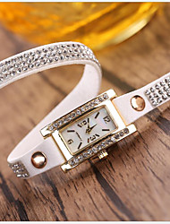 cheap -Women's Wrap Bracelet Watch Quartz Leather Casual Watch Analog Casual Fashion
