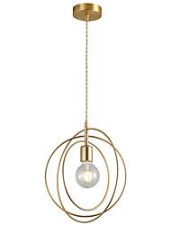 cheap -1-Light CXYlight 30 cm Pendant Light Copper Circle Modern / Nordic Style Generic
