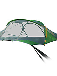 cheap -2 person Camping Shelter Outdoor Waterproof Rain Waterproof Anti-Insect Camping Tent for Camping / Hiking Hiking Outdoor Aluminum Alloy Nylon