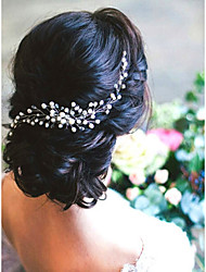 cheap -Imitation Pearl Hair Combs with Imitation Pearl 1 Piece Wedding Headpiece