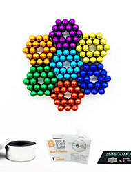 cheap -252 pcs Magnet Toy Magnetic Balls Magnet Toy Super Strong Rare-Earth Magnets Magnetic Stress and Anxiety Relief Office Desk Toys Relieves ADD, ADHD, Anxiety, Autism Teenager / Adults' All Toy Gift