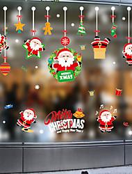 cheap -Decorative Wall Stickers - Plane Wall Stickers / Holiday Wall Stickers Christmas Decorations / Holiday Nursery / Kids Room 45*60CM
