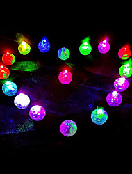cheap -Holiday Decorations New Year's / Christmas Decorations Christmas Ornaments LED Light Yellow / Blue / colour bar 50pcs