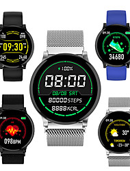 cheap -Smartwatch Digital Modern Style Sporty Silicone 30 m Water Resistant / Waterproof Heart Rate Monitor Bluetooth Digital Casual Outdoor - Black Green Blue