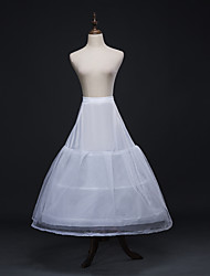 cheap -Wedding / Party / Evening Slips Tulle Floor-length A-Line Slip / Bridal with