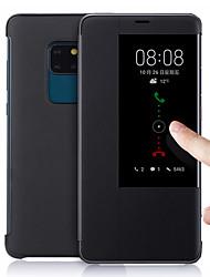 Недорогие -вид из окна умный кожаный флип чехол для Huawei Mate 20 Pro MATE 10 Pro MATE 20x функция телефона крышка