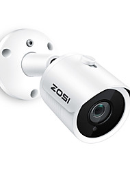 cheap -ZOSI IP Camera PoE 5MP Super HD Outdoor/Indoor Waterproof Infrared Night Vision ONVIF Security Video Surveillance
