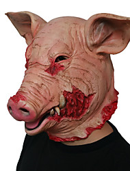 cheap -Mask Halloween Props Halloween Mask Inspired by Pig Clown Scary Movie Pink Masks Halloween Halloween Men's Women's
