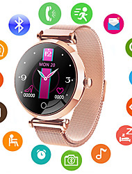 cheap -Smartwatch Digital Modern Style Sporty 30 m Water Resistant / Waterproof Heart Rate Monitor Bluetooth Digital Casual Outdoor - Golden Purple Blue