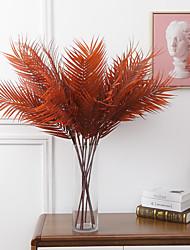 abordables -2pcs simulation plante phoenix bambou décoration de la maison simulation plante verte mur