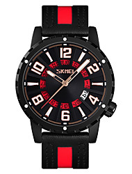 Недорогие -Ультратонкие спортивные часы Skmei 9202 поддерживают водонепроницаемые / двойные часовые пояса.